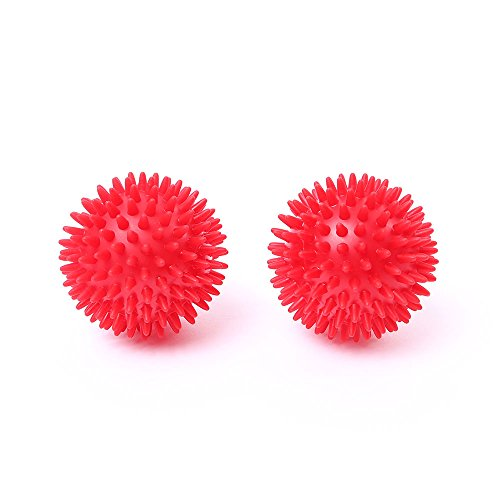 66fit massageballen (hard) set van 2, 8 cm - triggerpunt, spierspanning